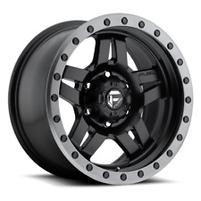 (4) 20x9 Fuel Matte Black Anza Wheels 5X150 For Toyota Landcruiser & Tundra