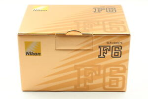 3years Guaranty [Intact in Box S/N0036xxx] Nikon F6 Camera Latest Lot from Japan