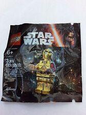 LEGO Star Wars mini figure C-3PO Red Arm Genuine New