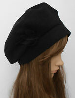 New Ladies Womens Fashion Winter Autumn Beret Leaf Beanie Lovely Hat Cap
