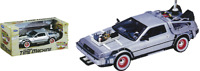 Back to the Future Part III - 1:24 Scale Die-Cast DeLorean Replica-WEL22444
