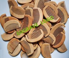 No Logo-20pcs WOODEN COMB,WIDE TOOTH COMB,BEARD COMB WHOLESALE