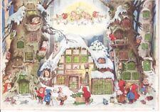 "Künstler-Adventskalender FRITZ BAUMGARTEN ""Zum Nikolaus"" 1950er-J"