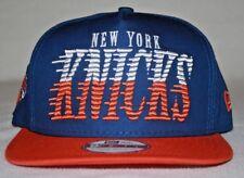 New Era Snap Back Hat - Blue / White / Orange - Basket Ball Cap