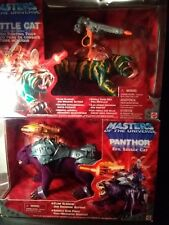 Battle Cat and Panthor Motu 200x Masters of the Universe He-Man MOC Carded