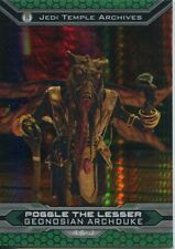 Star Wars Chrome Perspectives II Prism Parallel Base Card 46-J Poggle The Lesser