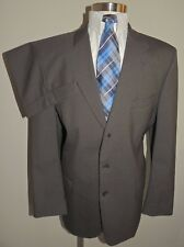 MEN'S FIORI GREEN/BLACK HOUNDSTOOTH 100% WOOL 2 PIECE SUIT 44T