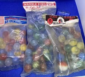 3 Original Marble Bags unopened