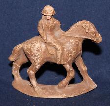 Original Vintage Composition Toy Soldier on Horseback