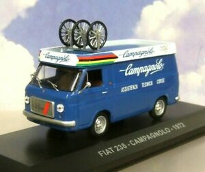 1/43 DCST FIAT 238 VAN CAMPAGNOLO 1972 CYCLE RACE ASSISTANCE/SUPPORT EDDY MERCKX