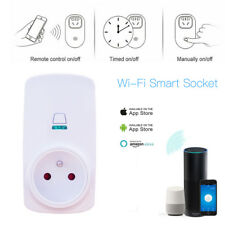 Smart EU Plug Wifi Power Socket Switch Outlet Home Automation Remote Control