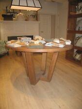 Mesa redonda madera. Nuevo