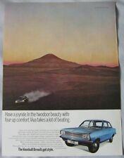 1969 Vauxhall Viva Original advert No.1