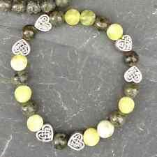 Heart, Jewellery,Made in Ireland, jewelry Connemara Marble Bracelet Irish Celtic