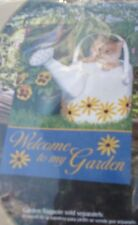 New listing Garden Flag Welcome To My Garden 12.5 X 18 ( Vibrant Colors )