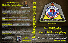 2011 Kyusho Extreme Self Defense Jack Hogan Karate International Seminar 3 DVDs