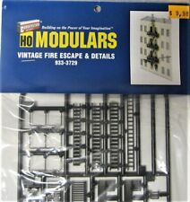 Walthers 933-3729 Modulars Vintaga Fire Escape & Details  HO Scale 1/87