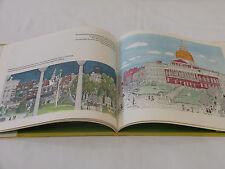 The Bean & the Scene Drawings Boston/Cambridge Westman 1st Ed 1969 HC