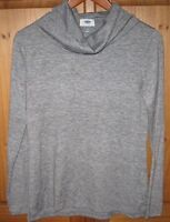 Old Navy Women's Knit CowlNeck Pullover Light Weight Marl Gray Size Small