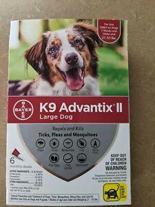K9 Advantix II 21-55 lbs. 5 Doses