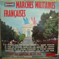 MARCHES MILITAIRES FRANCAISES GARDIENS DE LA PAIX LP33TOURS PORT A PRIX COUTANT