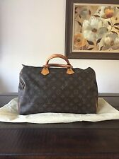 Authentic LOUIS VUITTON Speedy 35 Monogram  Hand Bag Purse