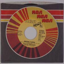 DOUG & THE SLUGS: Making it Work US RCA JH-13513 DJ Promo 45 NM New Wave