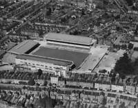 OLD PHOTO An Aerial View Of The Highbury Stadium Football Ground Home