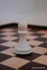 """Pawn Chess Set Replacement Piece  House Of Staunton  2"""" H Plastic White"""