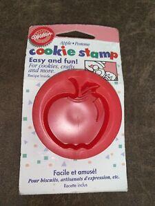 Wilton Apple Cookie Stamp NEW