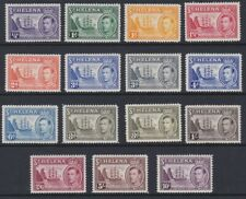 St Helena GVI 1938 definitive MINT set sg131-140