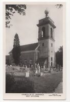Church Of St Lawrence West Wycombe Buckinghamshire Vintage RP Postcard 757b