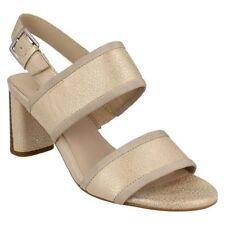 Clarks Block Heel Casual Sandals & Flip Flops for Women