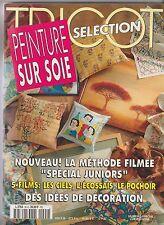 PEINTURE SUR SOIE Tricot Sélection 1997 N°94 H + dessins grandeur nature
