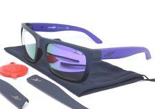 Arnette DROPOUT Sunglasses AN4176-06 2163/4V Black Purple Temples/Purple Mirror