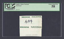 Angola - Banco Nacional Test Proof About Uncirculated