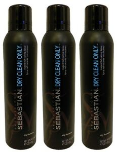Sebastian - Dry Clean Only Dry Shampoo 4.9 oz (Pack of 3)