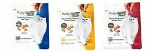 Purina Purely Fancy Feast Natural Hand-Flaked Cat Treats Variety Pack Bundle