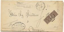 P4086    Mantova, BORGOFRANCO sul PO ottagonale 1902