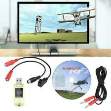 22 in 1 RC USB Simulator with Cables for Realflight G7/ G6/ G5 Phoenix 4 E2HG#K9
