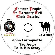 Alcoholics Anonymous AA 12 Step Speaker CD - John Larroquette Tells His Story