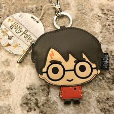 New Loungefly Harry Potter Quidditch Faux Leather coin money bag change purse