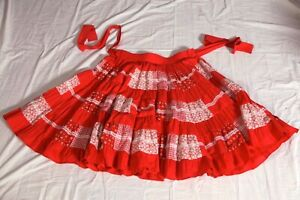 Fashions By Bettye Square Dance Dancing Skirt Size Large