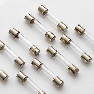 10 x Fuse Lamp 6,3V 300mA 0,3A 6x30mm / Lampen Pilotlampen Lamps Skalenlampe
