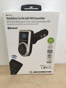 Scosche BTFREQ Handsfree Car Kit FM Transmitter Bluetooth w/ Remote (CQ219)