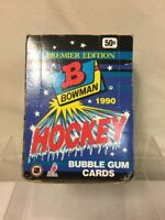 1 PACK OF Premeir Edition Bowman 1990 NHL HOCKEY Bubble Gum Cards GRETZKY ROY