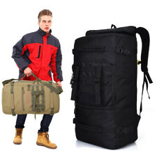 50L Military Tactical Rucksack Hiking Camping Daypack Backpack Shoulder Bags