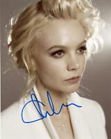 Carey Mulligan AUTOGRAPH Signed 8x10 Photo E ACOA