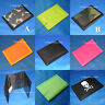 NEW MENS BOYS GIRLS TRIFOLD CANVAS WALLET ARMY CAMOUFLAGE CAMO BLACK SKULL NEONS