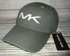 MENS MICHAEL KORS ADJUSTABLE GREEN HAT CAP ONE SIZE